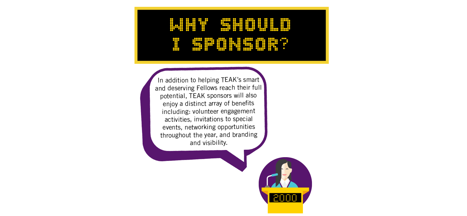 Why Should I Sponsor